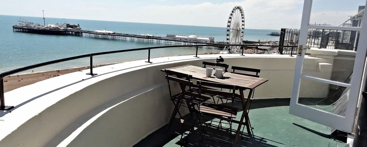 Beach Pad Penthouse, Brighton & Hove