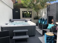 Bournemouth Beach Boutique Hot Tub Summer Family